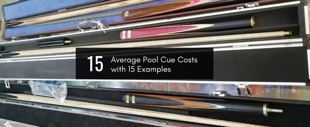 Average Pool Cue Cost