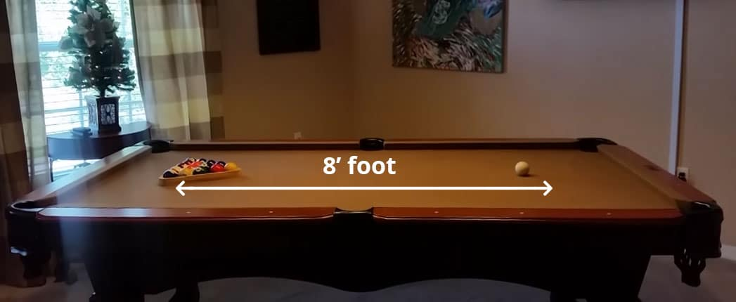 Size of Pool Table for Home