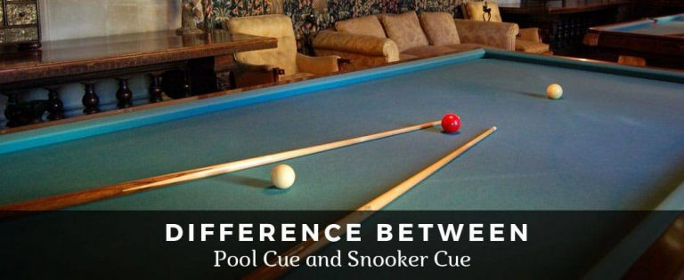 Difference Between Pool Cue and Snooker Cue