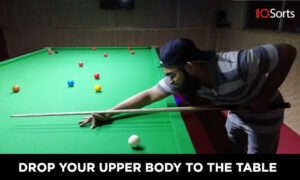 Drop Your Upper Body to The Table