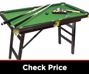 Deluxe Folding Pool Table by Bello Games New York