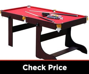 HLC 6-foot Folding Snooker/Pool Table