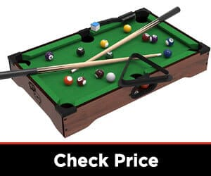 Mini Tabletop Pool Set Billiards Game