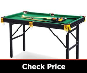 Rack Leo 4-foot Foldable Billiard Table