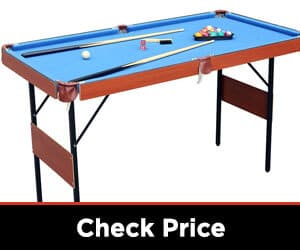HLC Folding Space Saver Billiard/Pool Table