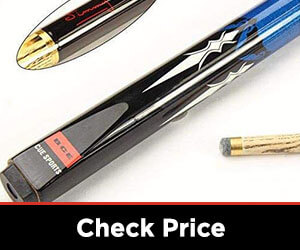 145cm 9.5mm tip with soft case BCE Mark Selby 2 Piece North American Ash Snooker//Pool Cue