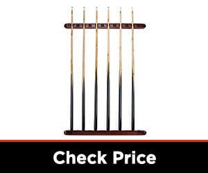 12 Cue Wall Mounted Billiard Stick Rack