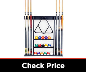 ISZY 6 Billiards Stick Wall Cue Rack