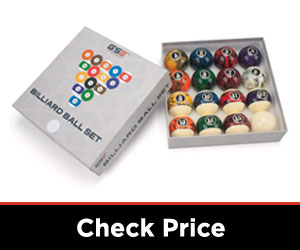 GSE Games & Sports Billiards Pool Balls Set
