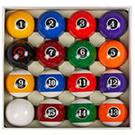 Collapsar Deluxe Billiard Pool Balls